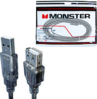 USB удлинитель Monster Cable, USB AM-AF, Hi-Speed USB 2.0, 5 м